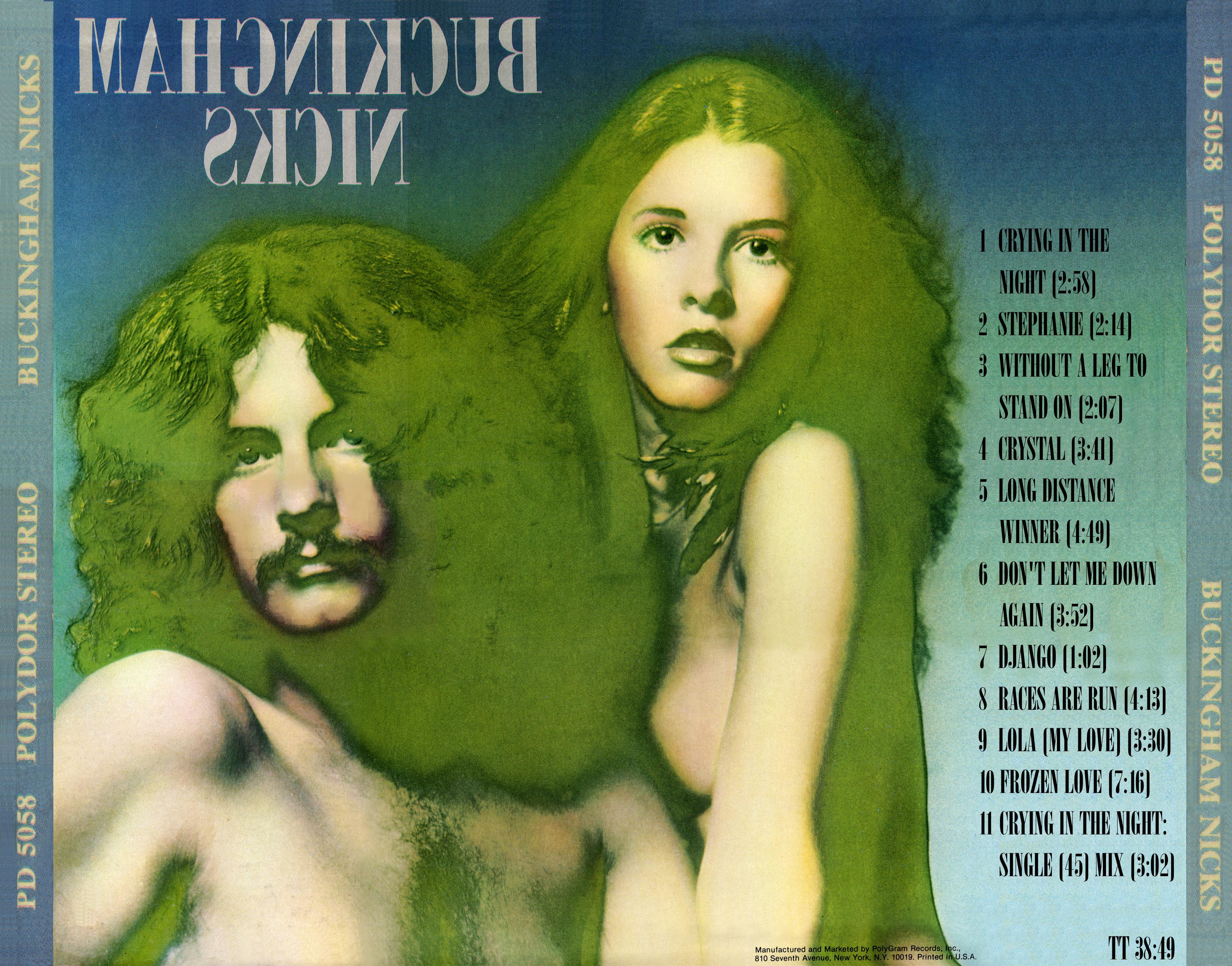 Buckingham Nicks CD Artwork